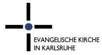Logo: Evangelische Kirche in Karlsruhe